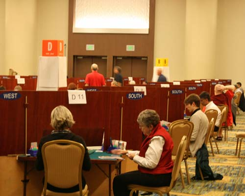 American Contract Bridge League bridge tournament