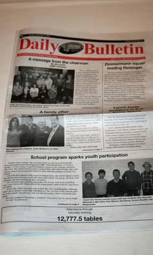 daily bulletin NABC