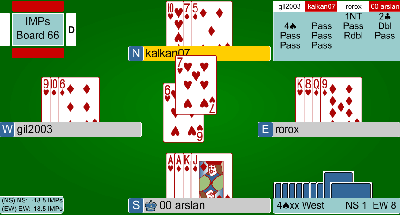 online bridge game